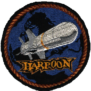 memorabilia - patch - harpoon