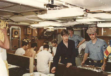 WESTPAC 80 -  Underway - Pollywog Meal